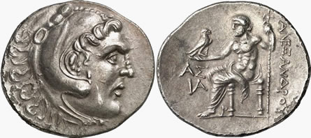 Aspendos Year 11 Coins of Alexander the Great
